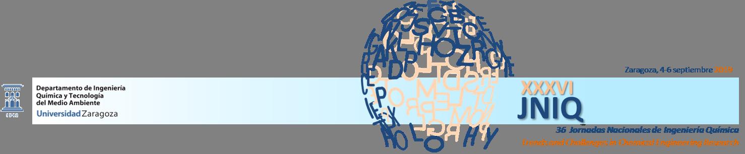 XXXVI Jornadas de Ingeniería Química Logo